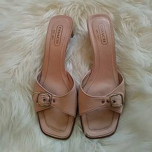Pink Coach heels